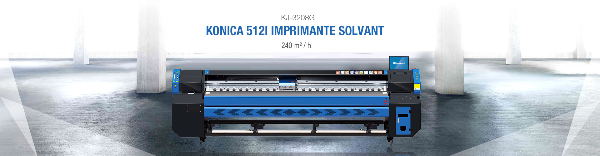 KINGJET KJ-3208G SOLVENT PRINTER