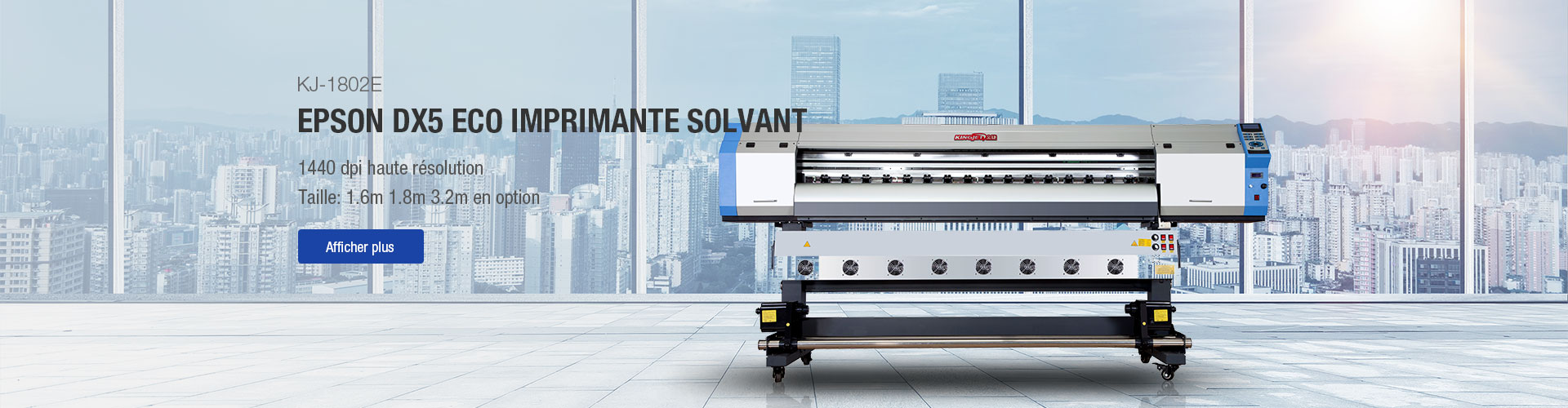 KINGJET DX5 Série Eco Solvent Printer KJ-1802E